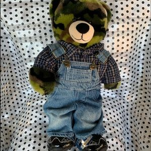 Build a bear plus 3 outfits! Used in good shape!